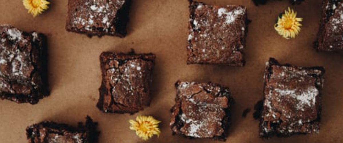CBD infused chocolate brownies
