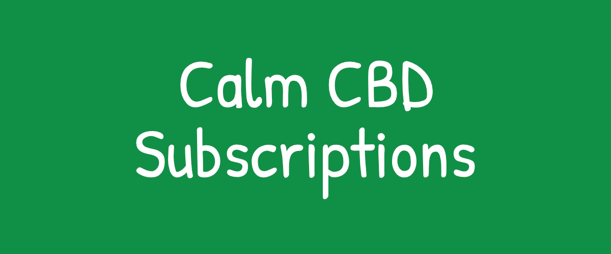 CBD Coffee subscription