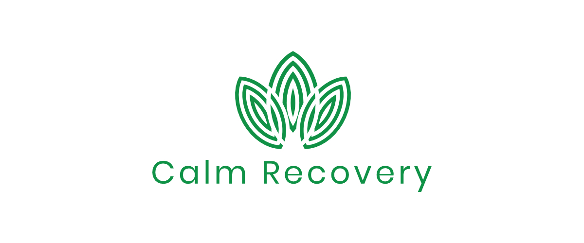 calm recovery logo banner